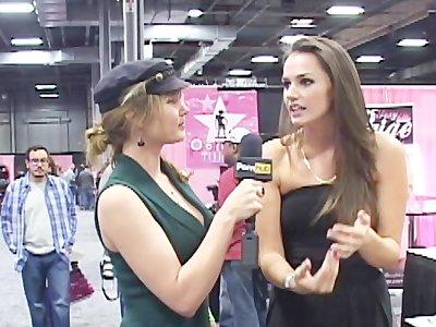 PornhubTV Tori Black Interview at eXXXotica 2012