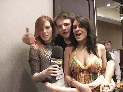 PornhubTV Charley Chase Interview at 2012 AVN Awards