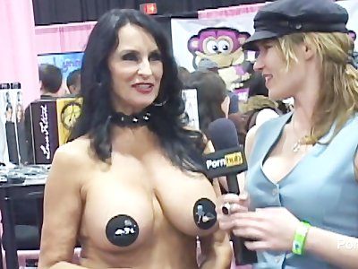 PornhubTV Rita Daniels Interview at eXXXotica 2012