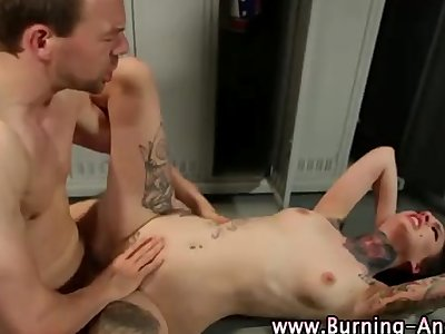 Emo fetish hottie gets fucked