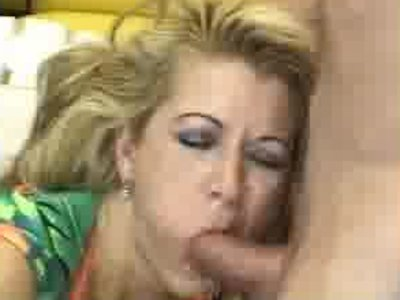 Angry MILF to take it on the face