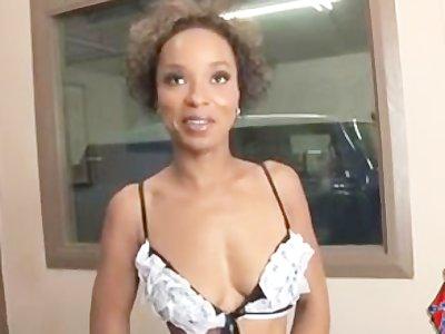 Angry black slut dresses for revenge
