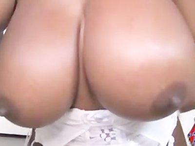Angry black slut sucks white redneck cocks