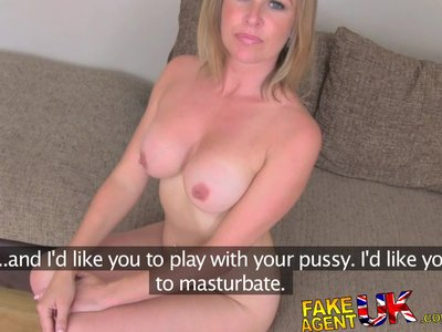FakeAgentUK Angry husband interrupts agent fucking dirty wifes pussy