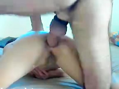 Horny wife gets her anus fucked by big cock