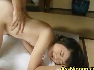 Cute Asian Babe in Hot Gang Bang Anus part5