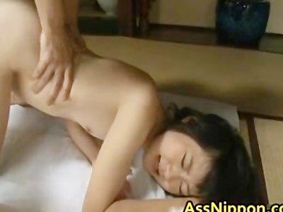 Cute Asian Babe in Hot Gang Bang Anus part3