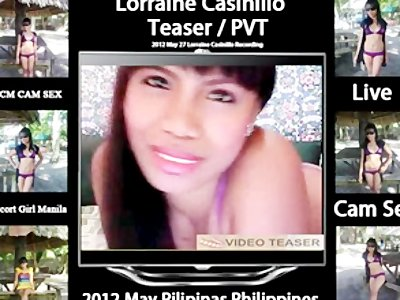Filipina Girl Lorraine Casinillo Live Cam Sex 2012 05 27