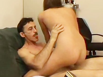 Teen Banged By The Boss
