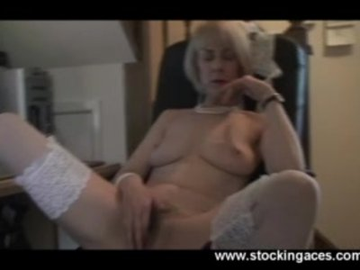 Mature MILF Office Play