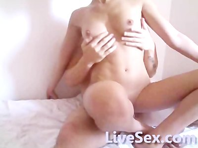 LiveSex.com - Couple teasing